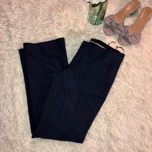 Dark blue wide legs trousers